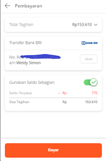 Cara pembayaran Tokopedia lewat transfer bank