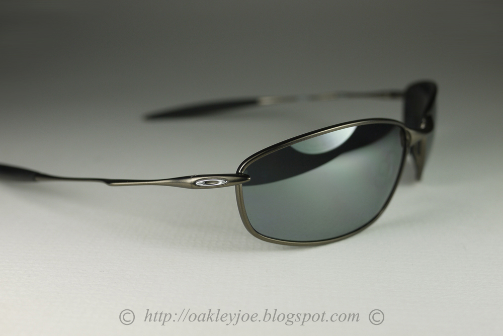 468552fe6f Oakley Sunglasses Whisker Pewter Black Iridium Polarized 12 849 ...