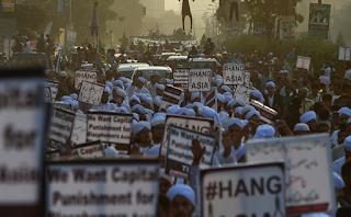 السجن لاكثر من 80 اسلاميًا في باكستان تظاهروا ضد تبرئة آسيا بيبي