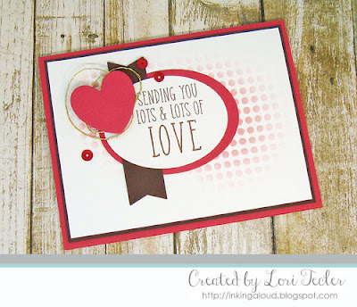 Sending You Lots and Lots of Love card-designed by Lori Tecler/Inking Aloud-stamps and dies from Reverse Confetti