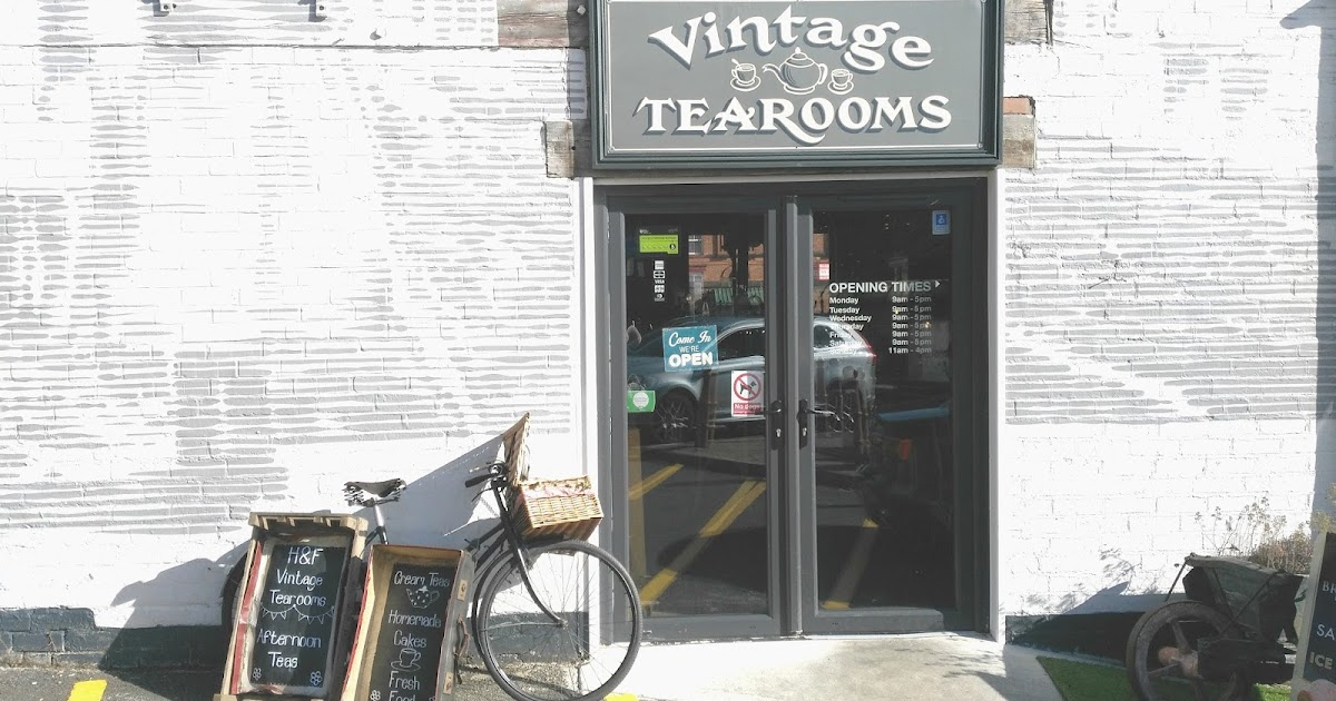 H F Vintage Tea Rooms Chesterfield