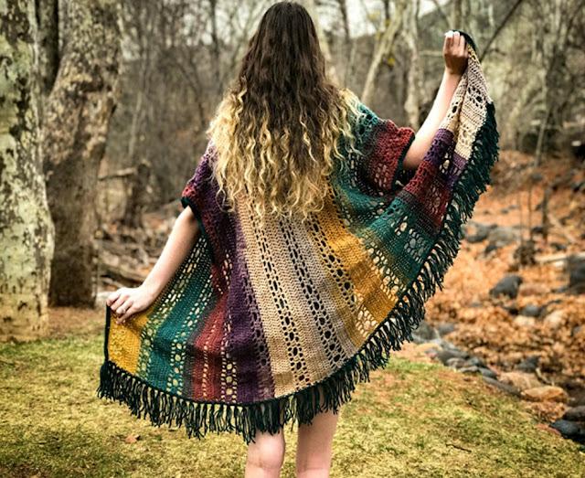 5 Crochet Summer Kimonos – free patterns
