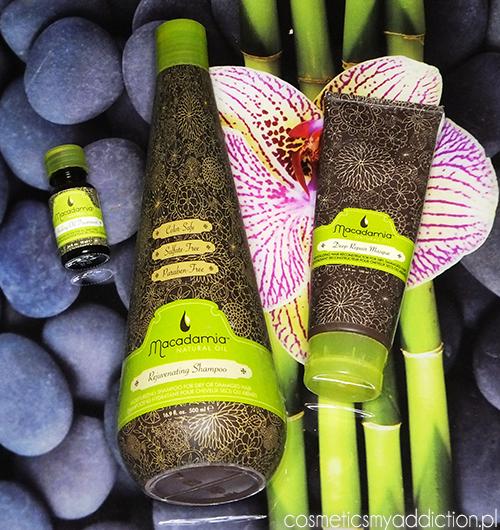 MACADAMIA NATURAL OIL | Nawilżający szampon, maska oraz olejek do włosów