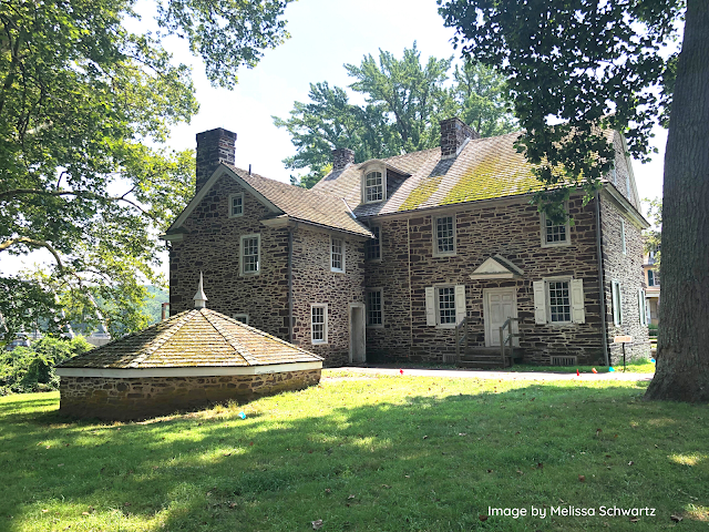 McConkey's Ferry Inn features prominently in the history of Washington Crossing.