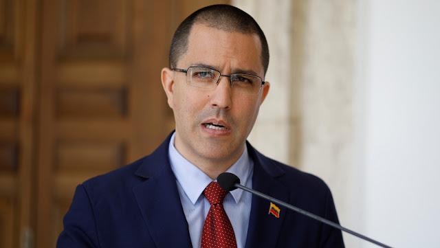 """Jorge Arreaza acusa a EE.UU. de impedir que Venezuela """"pueda vender petróleo para importar"""" medicinas y alimentos"""