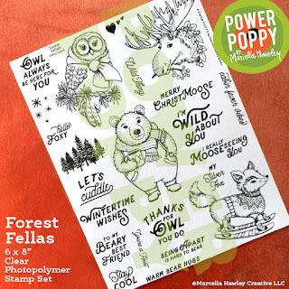 Power Poppy, Marcella Hawley, Forest Fellas