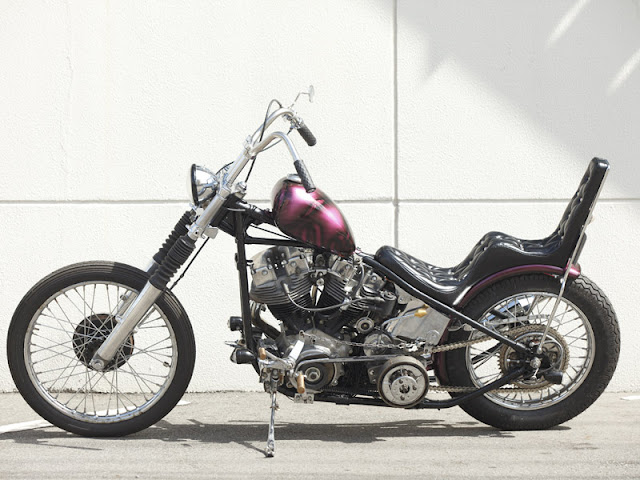 Harley Davidson Shovelhead By Kurumazakashita Motorcycle Hell Kustom