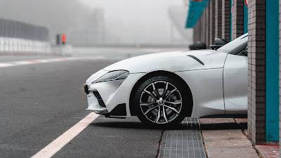 Speed, sports car, white car, garage
