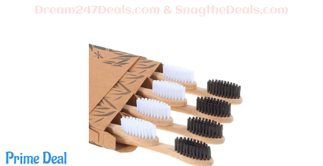 Bamboo Toothbrush  50%OFF