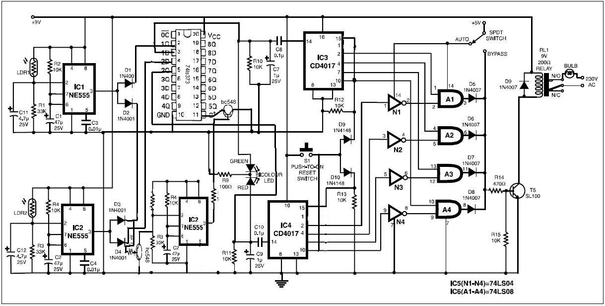 Diy Circuits  Automatic Room Power Controller