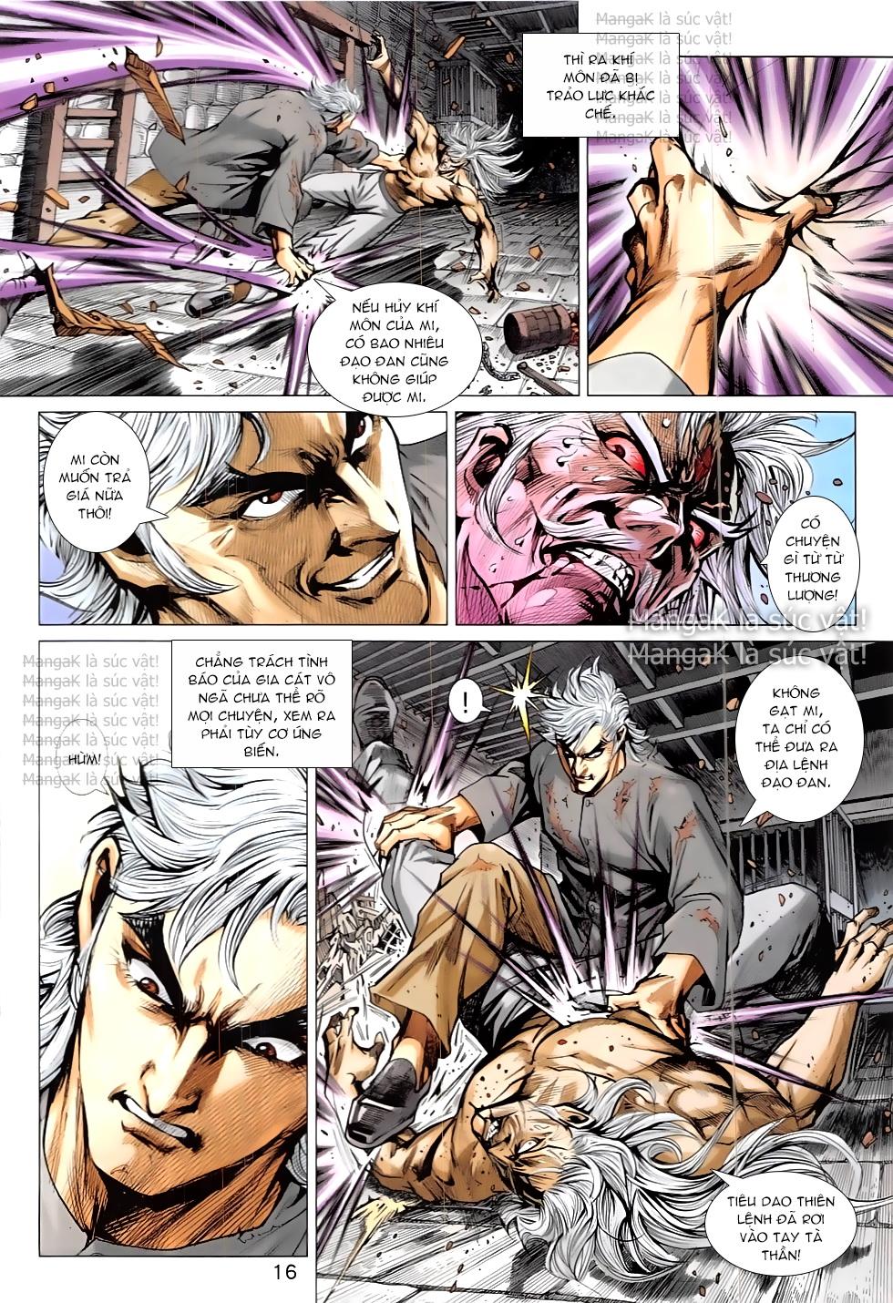 Tân Tác Long Hổ Môn Chap 824 page 16 - Truyentranhaz.net