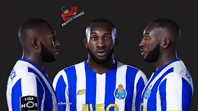 PES 2021 Faces Moussa Marega by Prince Hamiz