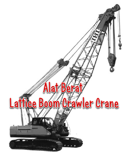 Fungsi Lattice Boom Crawler Crane