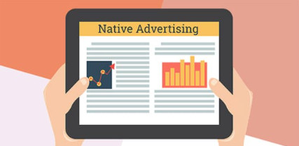 The native advertising is integrated into the content or platform where it is published