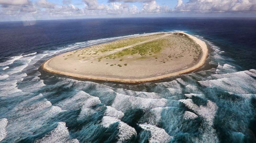 5. Tromelin Island - 50 Stunning Aerials That Will Make You See the World in New Ways (PHOTOS)