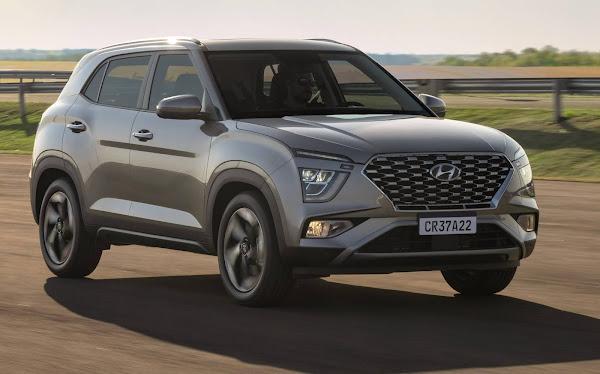 Hyundai Creta 2022 - 4º carro mais vendido do Brasil