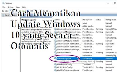 Cara Mematikan Update Windows 10 yang Secara Otomatis