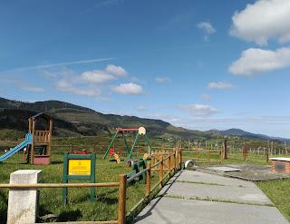 Zona de juegos infantiles, La campa del asturiano, Trapagaran, Bizkaia