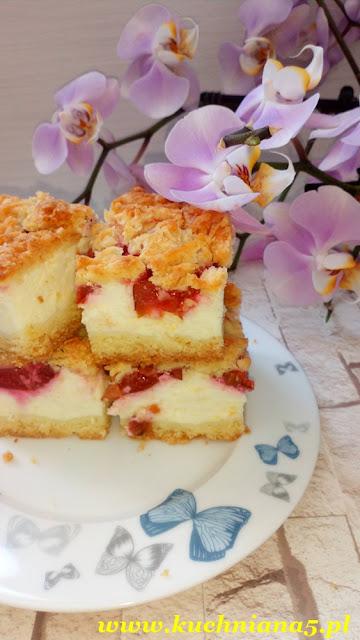 ala sernik, ciasto styropian, ciasto styropian z owocami