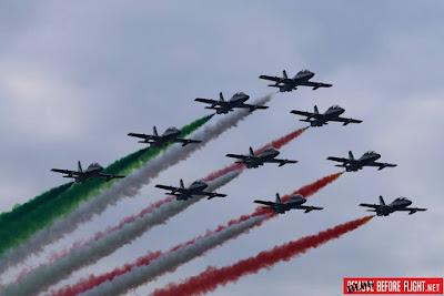 Milano Linate Frecce Tricolori