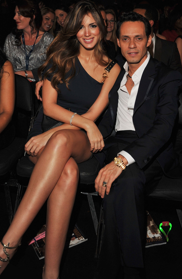 Parejas Disparejas Marc Anthony y Shannon de Lima