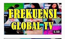 Frekuensi Global TV Terbaru Satelit Palapa