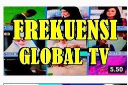 √ Frekuensi Global TV Terbaru Satelit Palapa Juli 2019