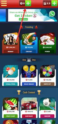 Add BigCash token in BigCash app