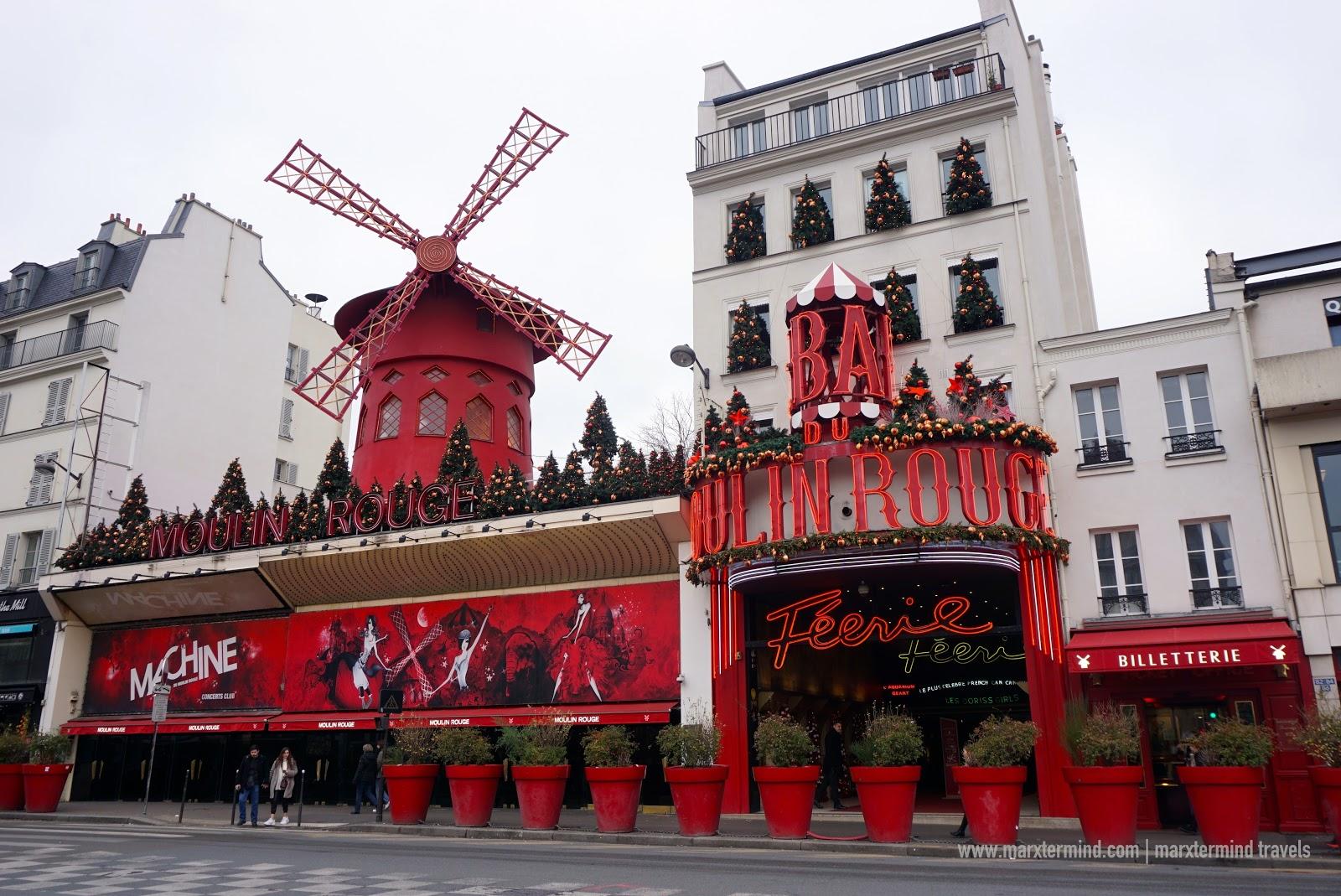Moulin Rouge in Paris, France
