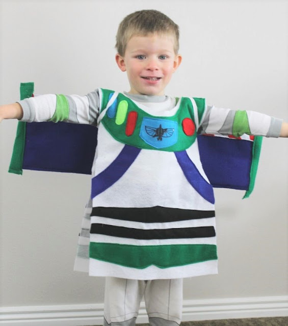 handmade buzz lightyear costume