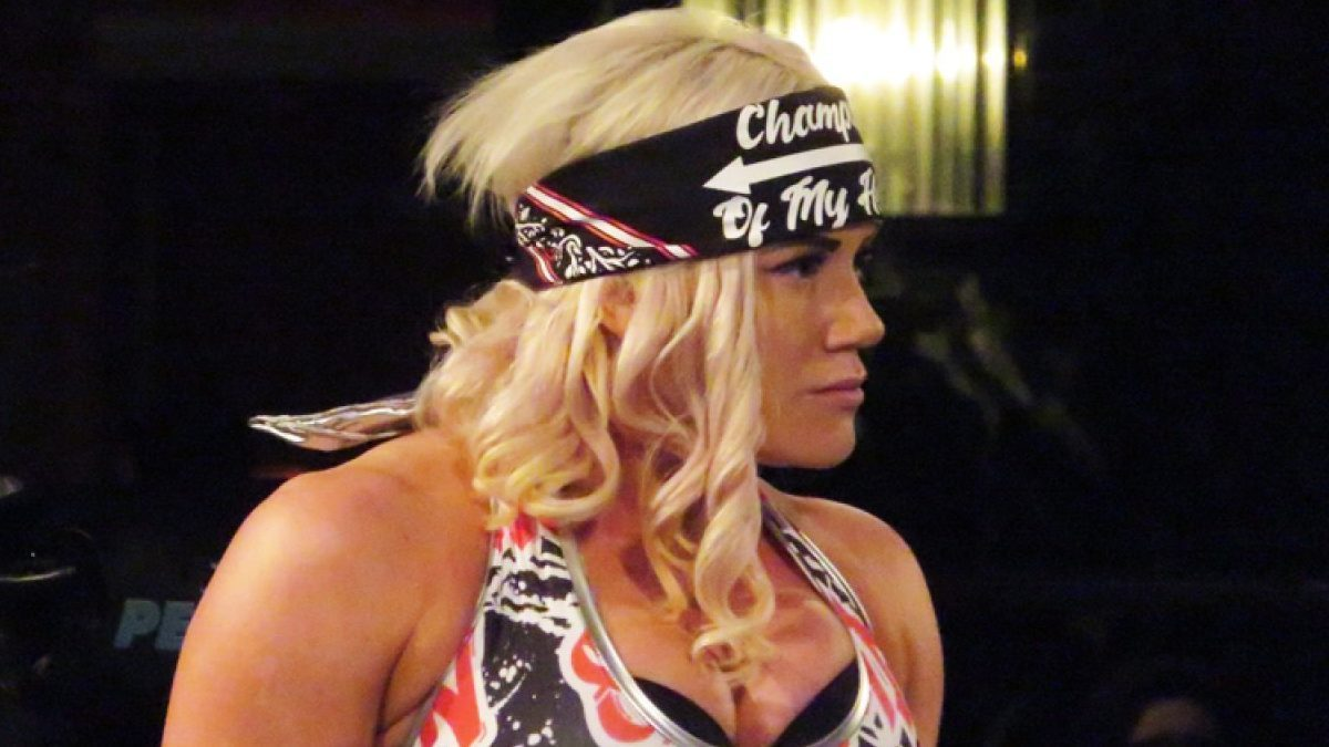 Taya Vakyrie pode ter assinado com a WWE