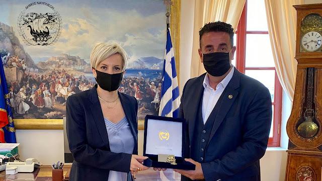 Δήμος Ναυπλιέων: Άμεση η ανταπόκριση της Σοφίας Νικολάου στο αίτημα μας για την παραχώρηση έκτασης