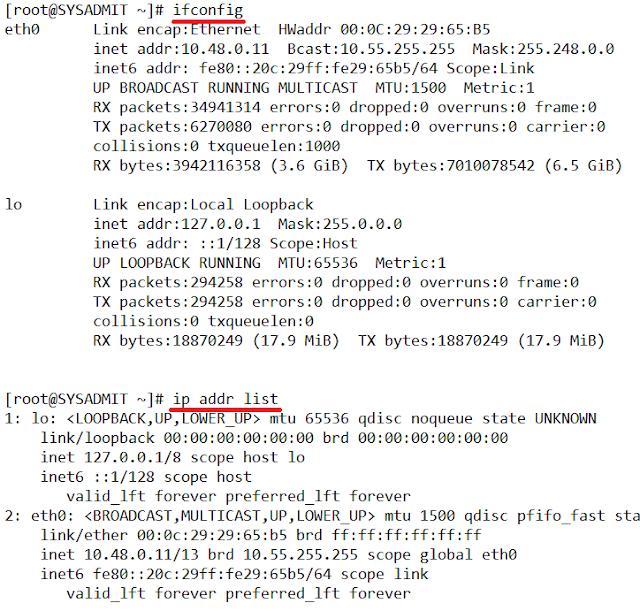 Linux: Instalar ifconfig