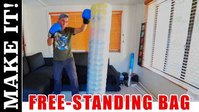 DIY Free-Standing Punching Bag