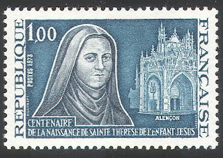 France 1973 St Theresa of Lisieux
