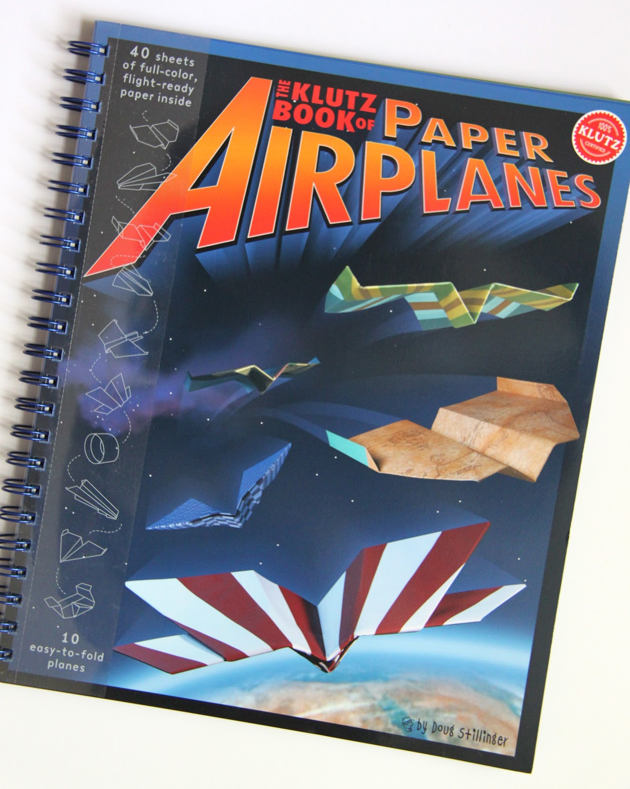 how to make cool paper airplanes with klutz books smashed peas carrots. Black Bedroom Furniture Sets. Home Design Ideas