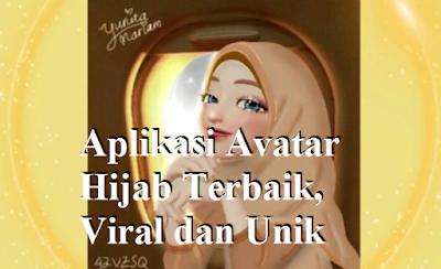 Aplikasi Avatar Hijab Terbaik, Viral dan Unik