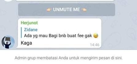Solusi Tidak Bisa Mengirim Pesan di Grup Telegram Karena Dibatasi Admin