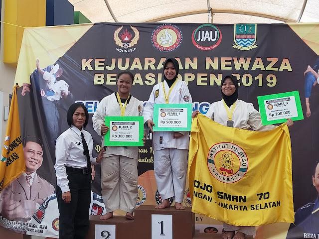Personel Bakamla RI Raih Medali Emas Kejuaraan Ju-Jitsu Newaza Bekasi Open 2019