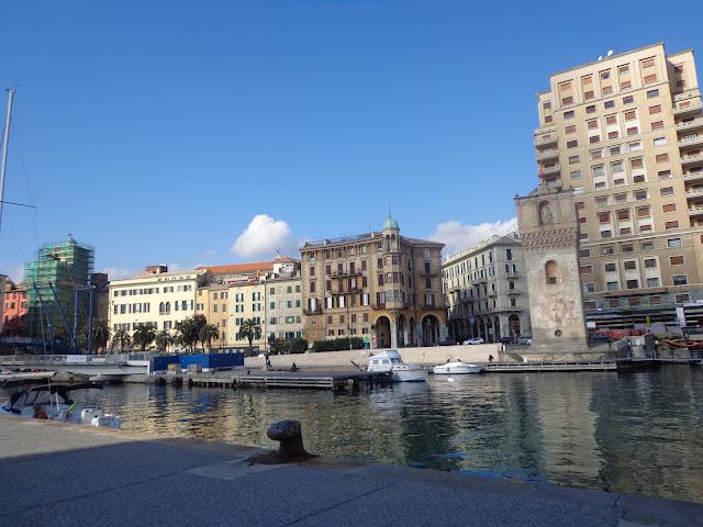 Порт Савоны в Италии