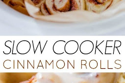 Easy Slow Cooker Cinnamon Rolls Recipe