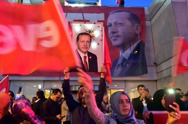 Τουρκία: Το 75,5% των πολιτών στηρίζει την πολιτική Ερντογάν στη Μεσόγειο