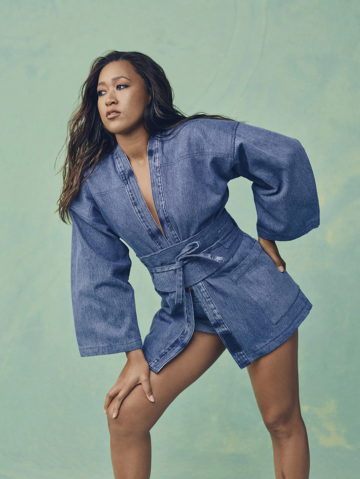Discover NAOMI OSAKA x LEVI'S Summer 2021 Limited Edition Collection
