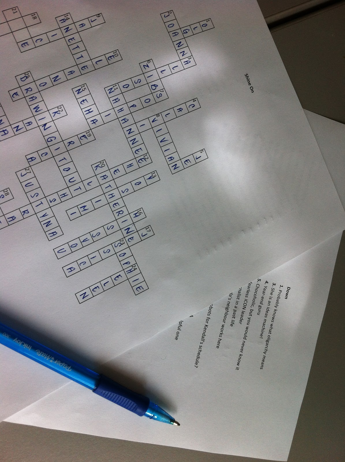 Work Out: Crossword Clue Work Out
