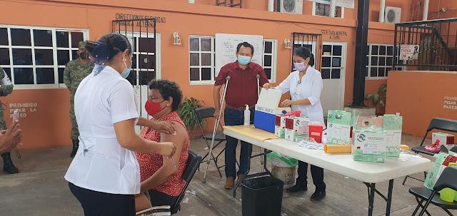 Suman 26.8 millones de personas vacunadas en México