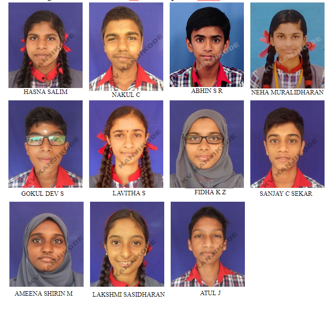 AISSE 2019 (CLASS X) STUDENTS WITH A1 IN ALL SUBJECTS