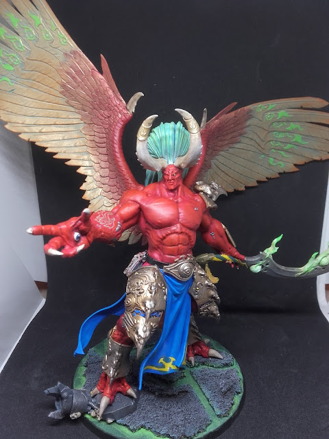 Warhammer 40K - Magnus the Red, Demon Primarch of the Thousand Sons