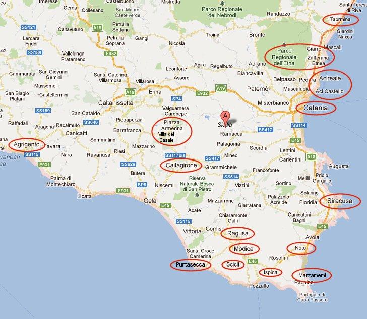 Cartina Dettagliata Sicilia Orientale.The Pink Candy Travel Experience Infinita Sicilia Parte 2