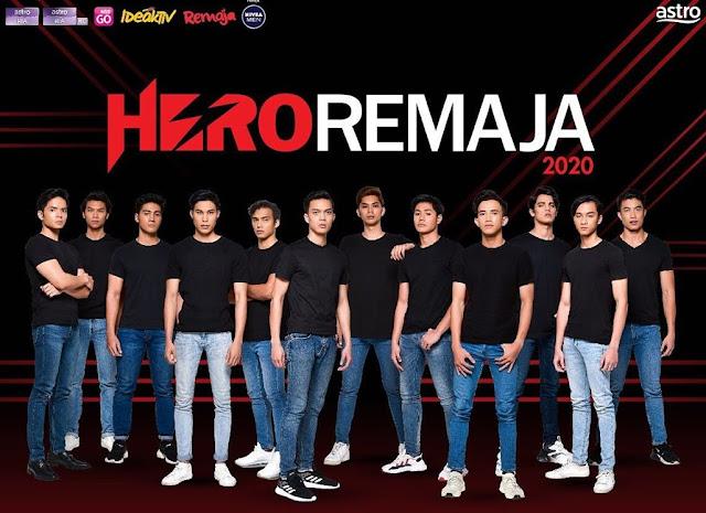 Kenali Lebih Rapat Biodata Hero Remaja 2020