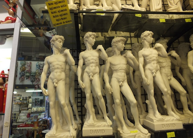 Lembrancinhas e souvenirs em Florença